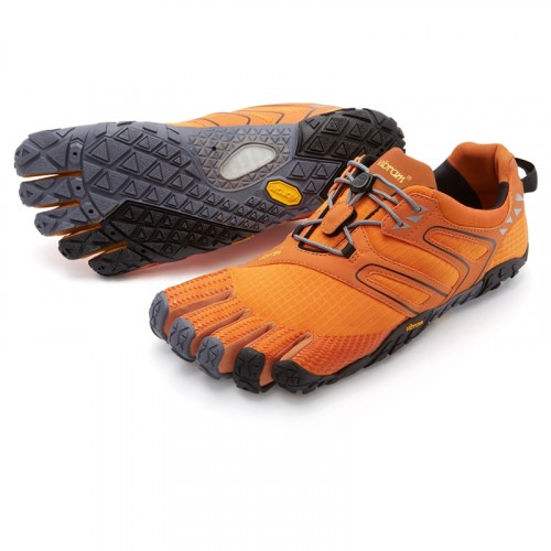 Vibram FiveFingers V-Trail: Orange / Grey / Black