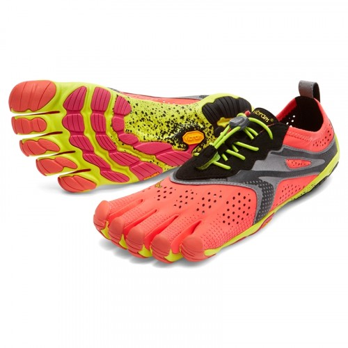 Vibram Five Fingers Womens  V - Run: Fiery Coral