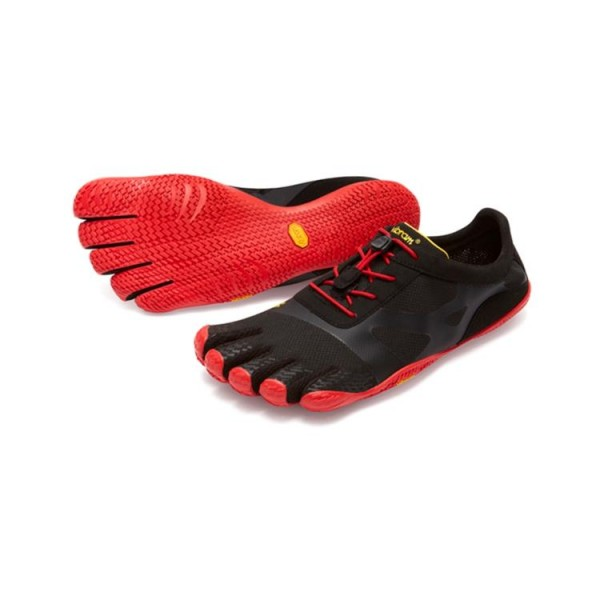 Vibram Five Fingers KSO EVO Mens: Black / Red