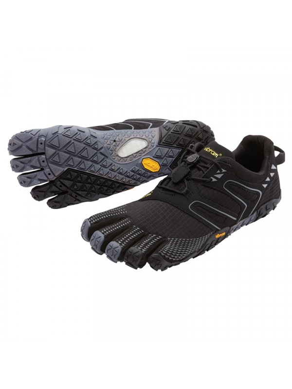 Vibram FiveFingers Womens V-Trail: Black / Grey