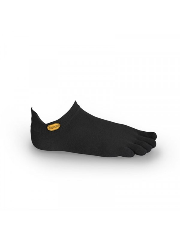 FiveFingers Athletic No-Show Socks : Black