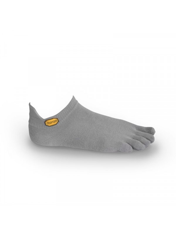 FiveFingers Athletic No-Show Socks : Grey