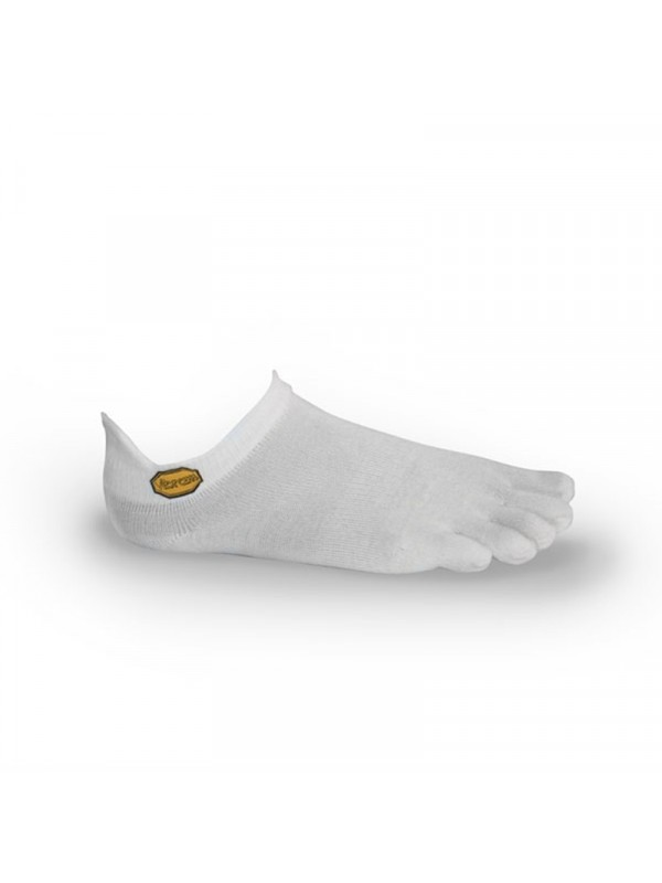 FiveFingers Athletic No-Show Socks : White