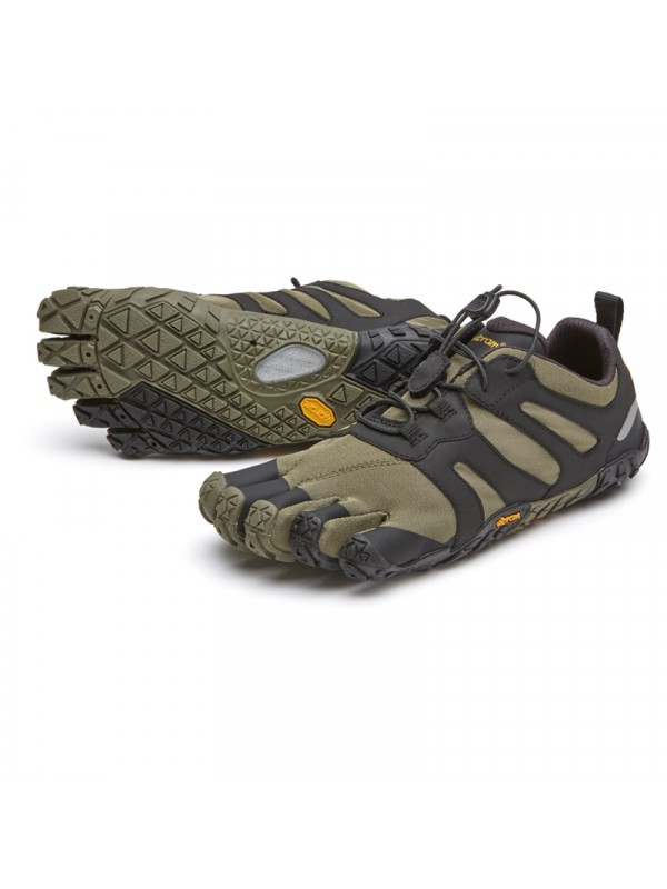 sale retailer 75ee4 64679 Vibram Five Fingers V - Trail 2.0   Ivy   Black