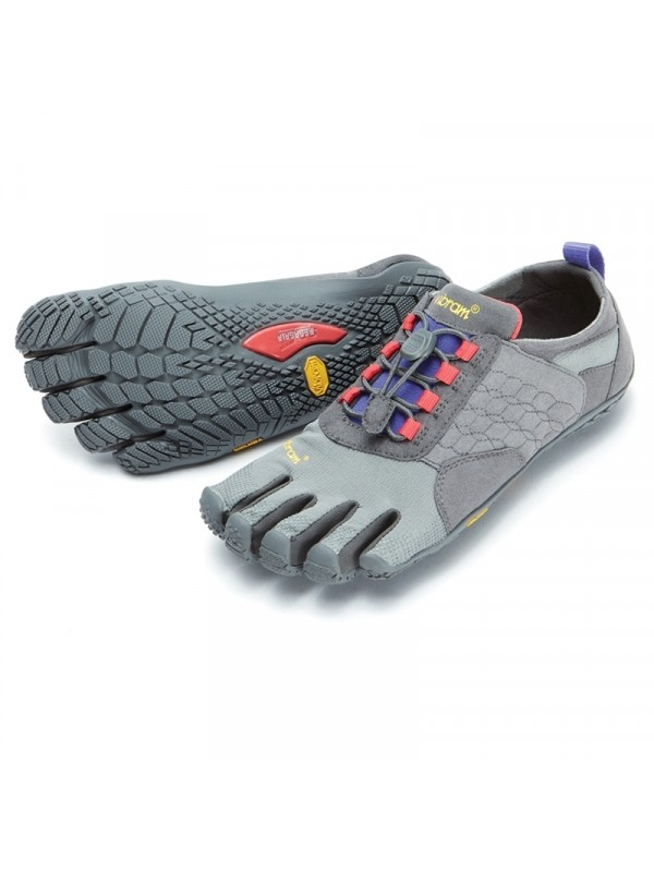 Vibram Five Fingers Womens Trek Ascent: Dark Grey / Lilac