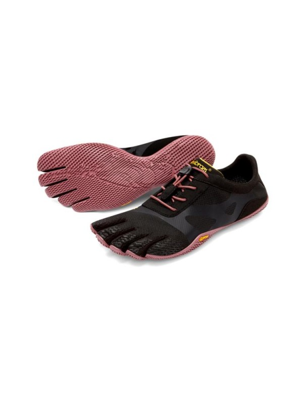 Vibram Five Fingers Womens  KSO EVO : Black / Rose