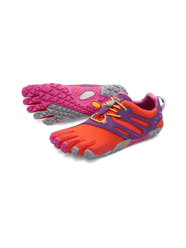 Vibram FiveFingers Womens V-Trail: Magenta /  Orange